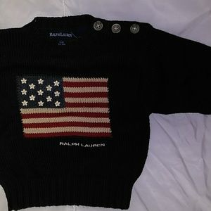 3-12m infant Polo sweater